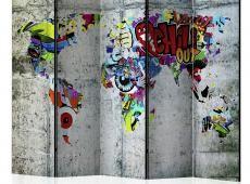 Paraván - Graffiti World [Room Dividers]